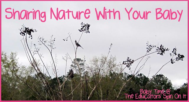 Sharing Nature with your Baby or toddler