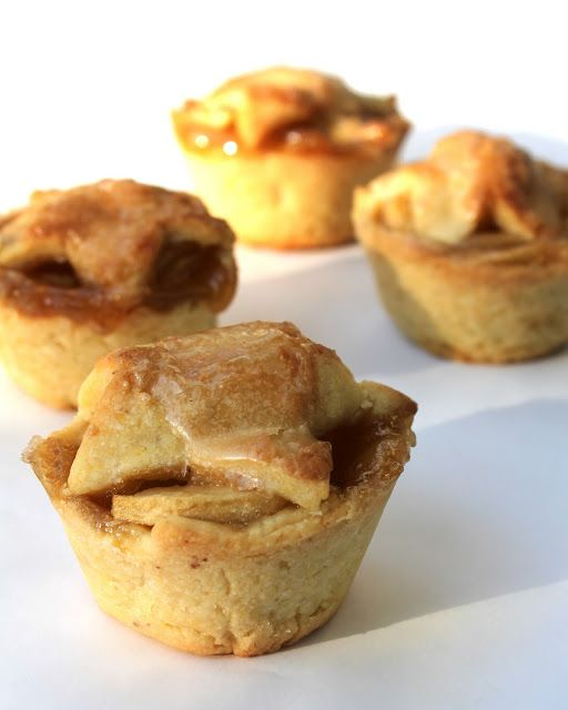 Brandy Apple Mini Pies with Cornmeal Crust | A Spicy Perspective ...