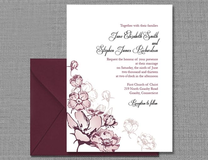7 Wedding Invitation Templates That Are Cute And Easy To Make