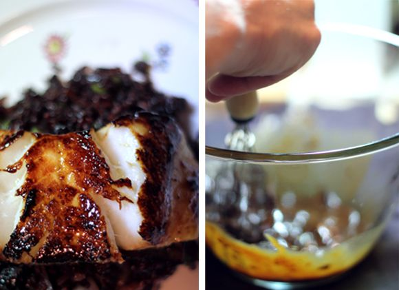 Miso Glazed Sea Bass | Tastes Just Like Candy :) | Pinterest