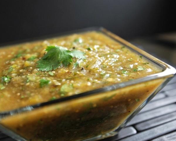 Roasted Tomatillo Salsa (Salsa Verde) | Eats: Mexican Fiesta | Pinter ...