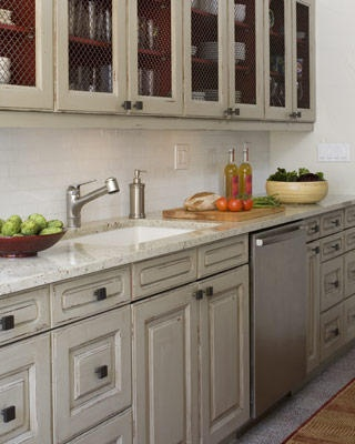 Best Distressed Grey Cabinets Someday I Hope Pinterest 400 x 300