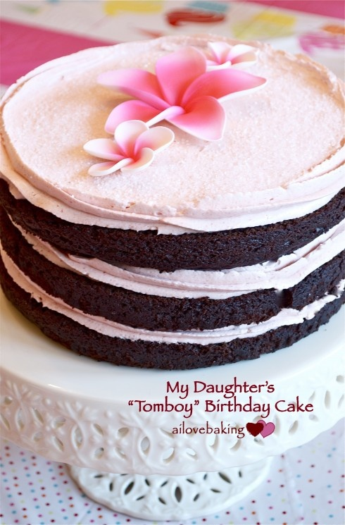 "Made this ""Tomboy"" cake from the book, Miette: Recipes from San ..."