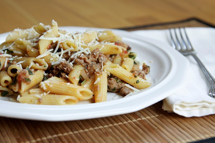 Pasta with Sausage and Vegetables | Recipes | Pinterest