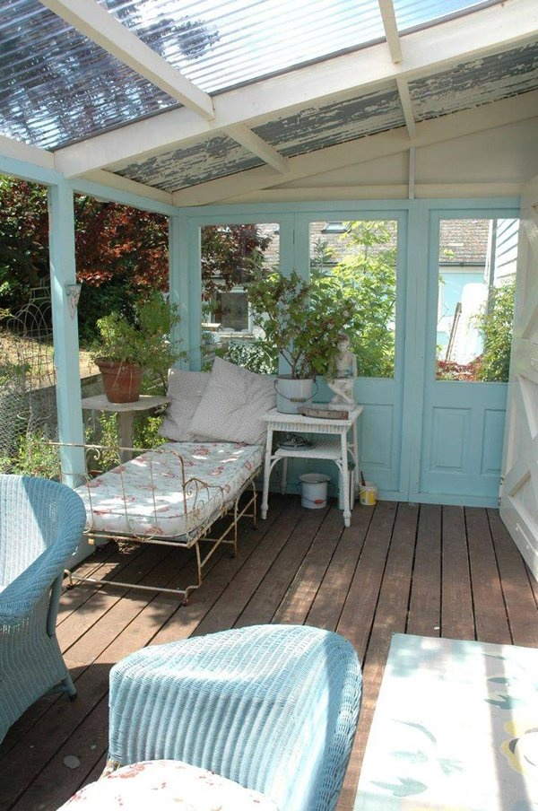 Light Blue Closed In Porch In My Dreams Pinterest