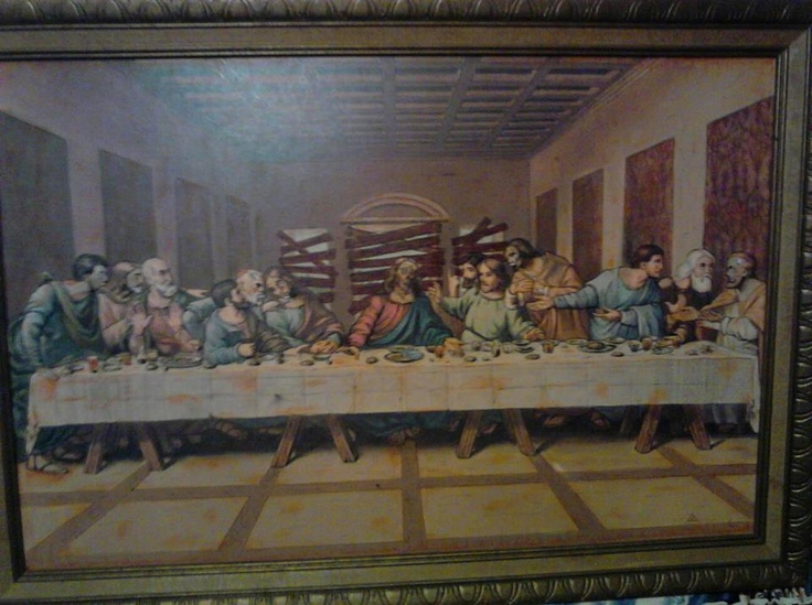 essay on the last supper painting