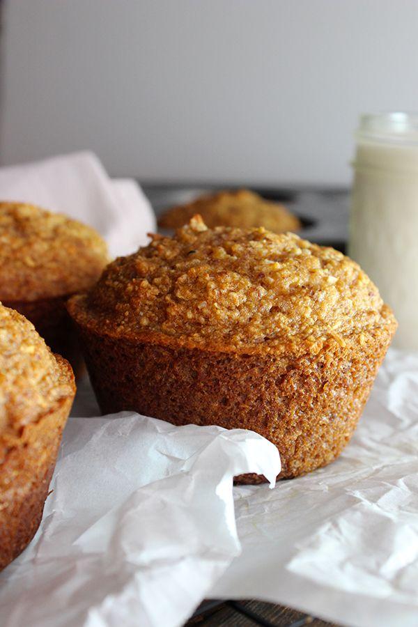 Jumbo Coconut Oil Zucchini Muffins | Recipe