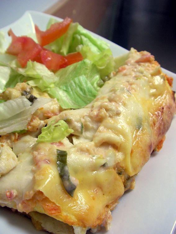 Sour Cream Chicken Enchiladas | Favorite Recipes | Pinterest