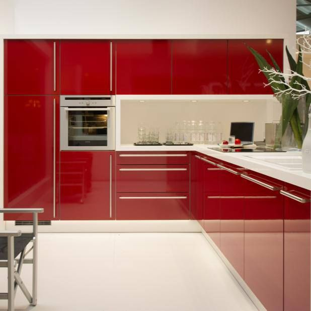 Red kitchen | Decorating and furniture ideas | Pinterest