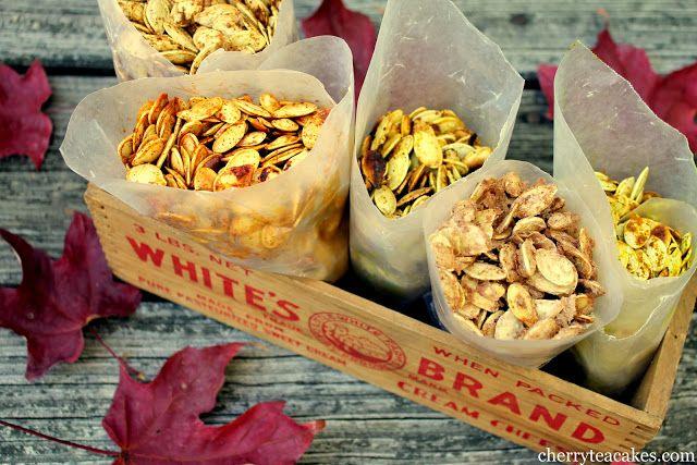 flavored pumpkin seeds | Halloween/AUTUMN/Pumpkin | Pinterest