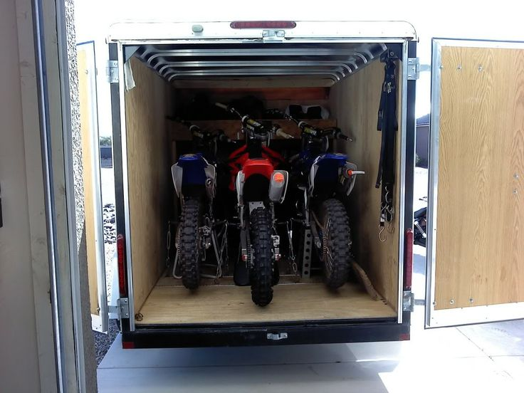 Image Result For Shelves For Cargo Trailers