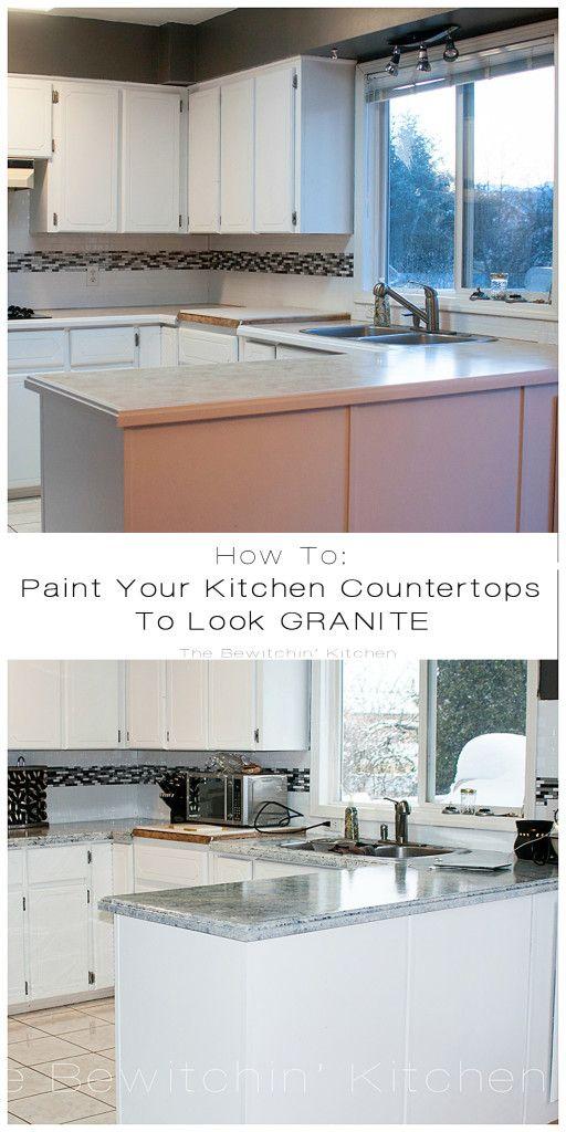 Painting Kitchen Countertops With Giani Granite