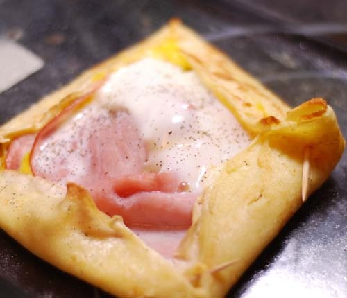 Ham and Egg Crepes (8pp)
