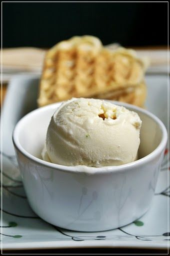 Coconut Lime Ice Cream | Foodie - Sweet sweet recipes | Pinterest