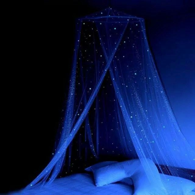 Glow in the Dark Stars Canopy | •Random Cool Stuff that I WANT ...