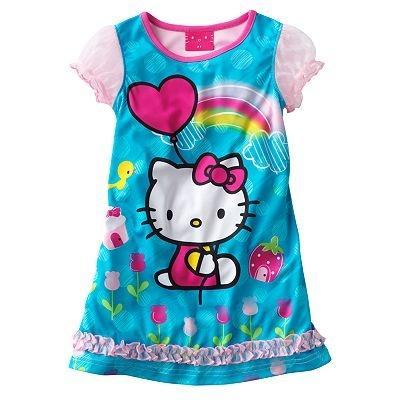 Hello Kitty Balloon Nightgown - Toddler
