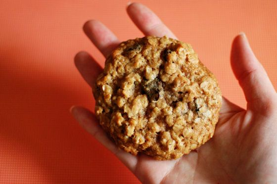 Thick and Chewy Oatmeal Raisin Cookies | Things I need to make. | Pin ...