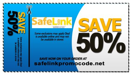 Safelink discount coupon