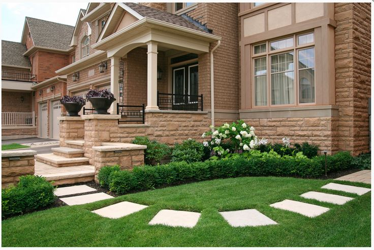 Stepping stone ideas front yard landscaping ideas for Pinterest garden stones