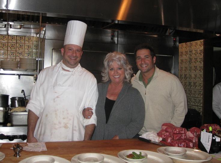 Paula Deen in our kitchen  Paula DeenA Family Affair!  Pinterest