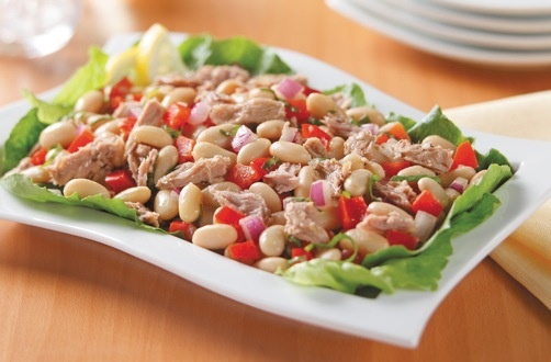 Rachael Ray's Tuna and White Bean Salad is a simple and delicious meal ...