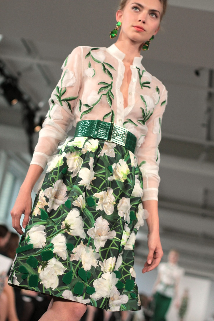 OSCAR DE LA RENTA RESORT 2013 - PHOTO BY RACHEL SCROGGINS/ thegreyestghost.wordpress.com