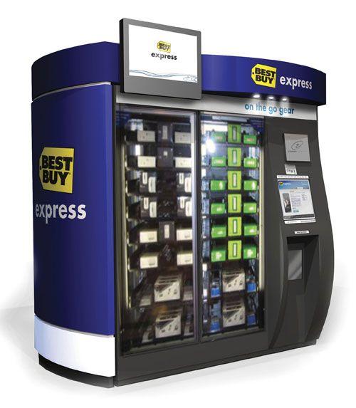 kiosk vending machine