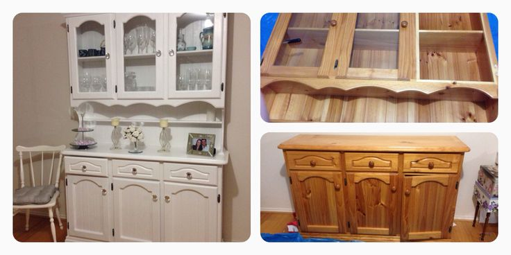 Before And After DIY Before And After Furniture Country Shabby Chic