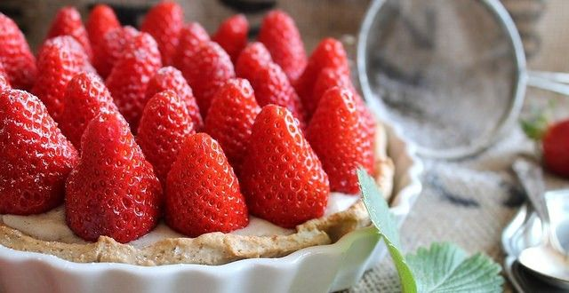 Tarte aux fraises {vegan} | Emilie and Lea's Secrets