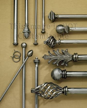 Wrought iron curtain rods for my or someones home pinterest