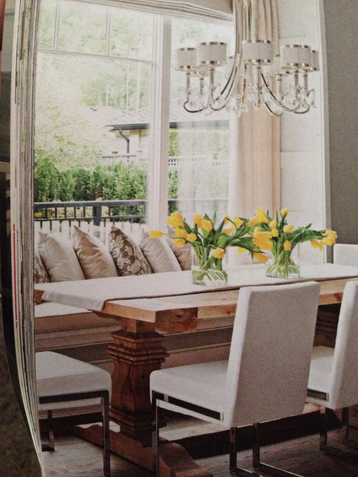 Pin by jamie newton on kitchen pinterest for Dining room seating