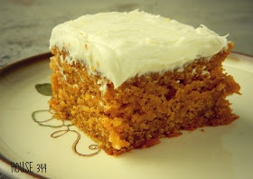Pumpkin Cake with Cream Cheese Frosting | Dessert Addiction | Pintere ...