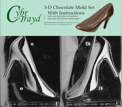 high heel shoe chocolate mold the scandalous side