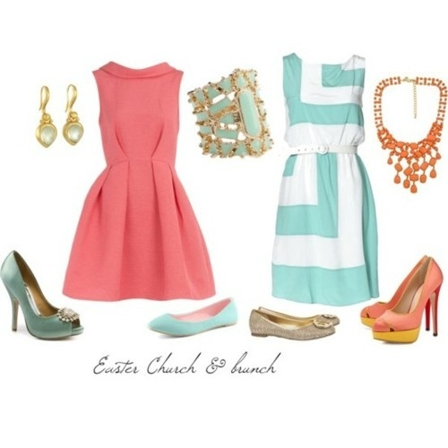 Easter Brunch Outfits Fashion Pinterest