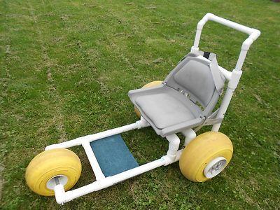 Beach wheelchair for Pvc pipe chair plans