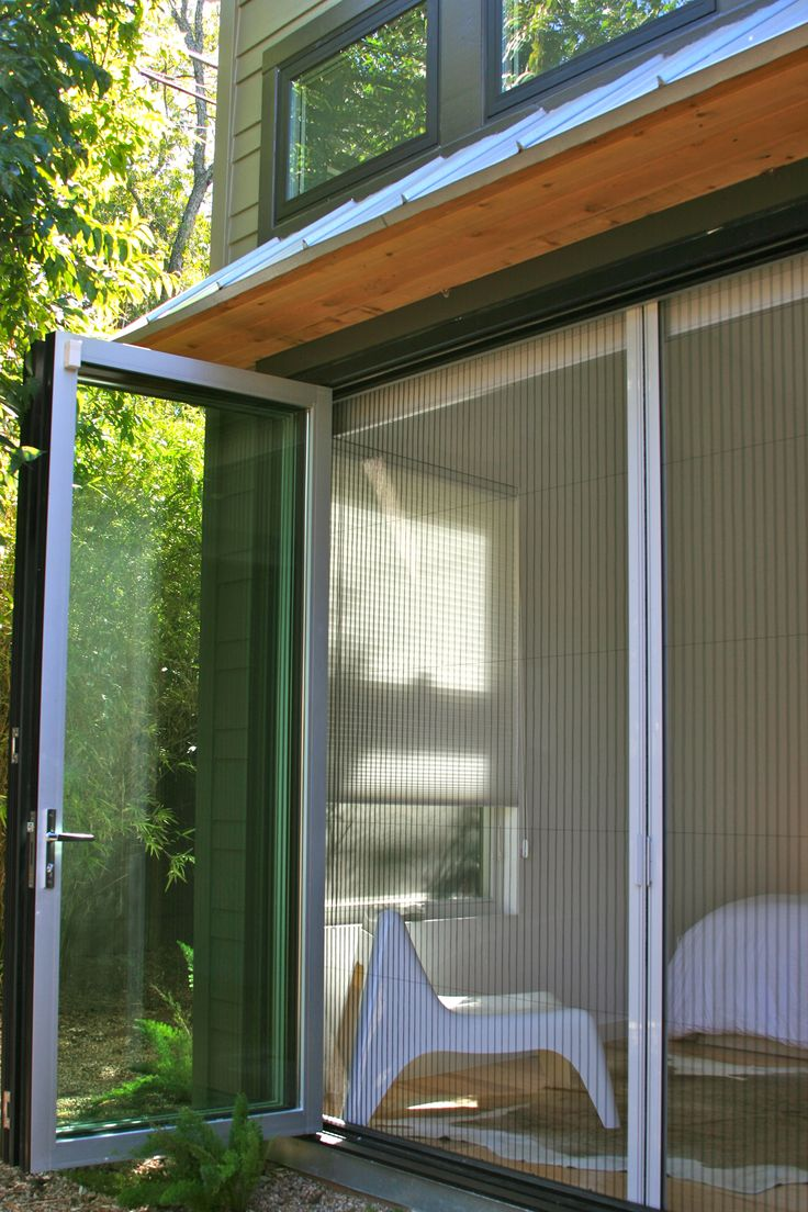 French Doors Patio With Screen Viewing Gallery