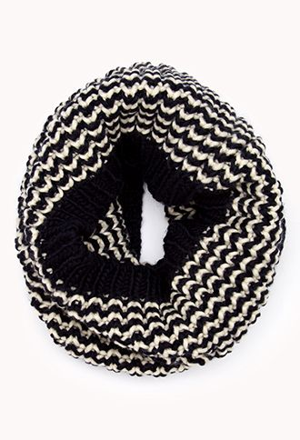 Everyday Chevron Infinity Scarf | FOREVER21 - 1000127911