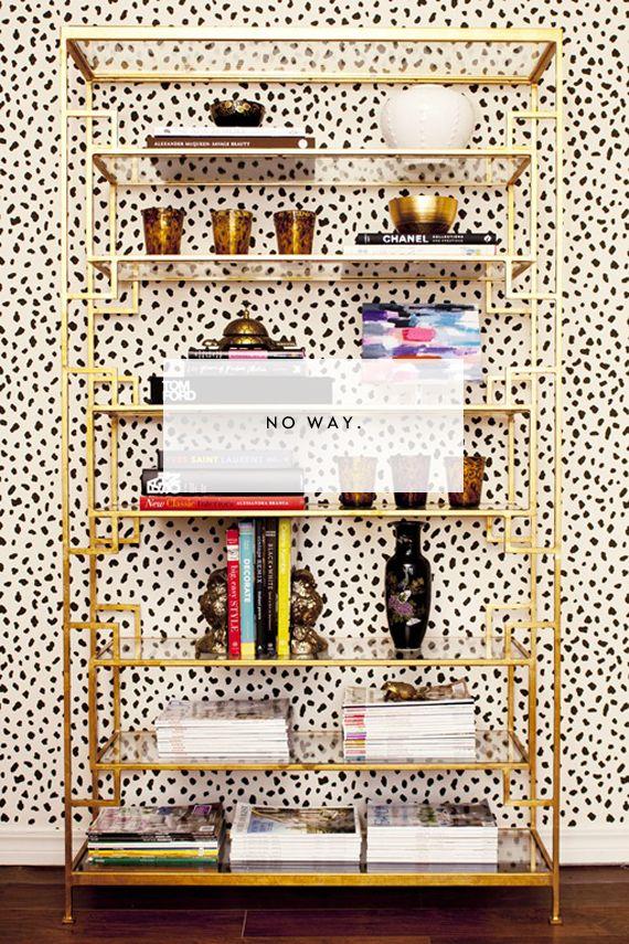 Dalmatian print wallpaper!
