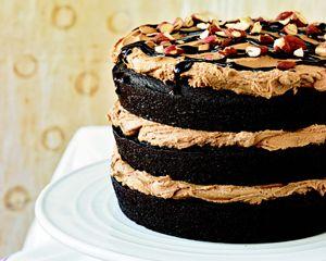 Chloe's Kitchen Recipe: Mocha Almond Fudge Cake