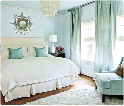 Aqua And Cream Master Bedroom Master Bedroom Pinterest
