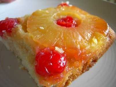 Vegan Thyme: Vegan Pineapple Upside-Down Cake (Dispatches from The Sewing Room And The Year-long Quilt: Finally!)