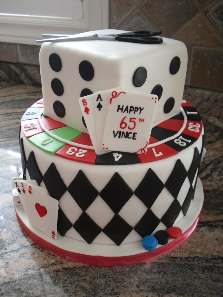 Casino Themed Cake Walmart