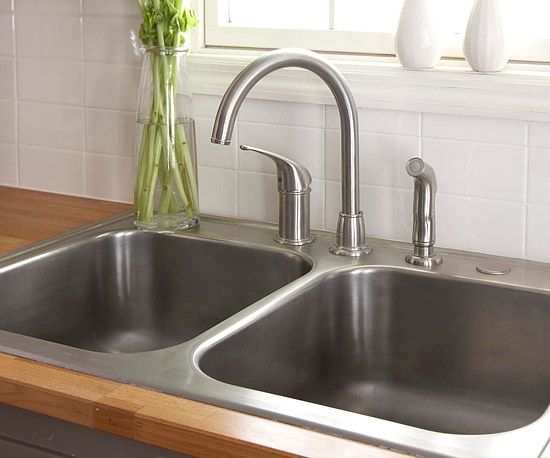 how to install a sink and faucet