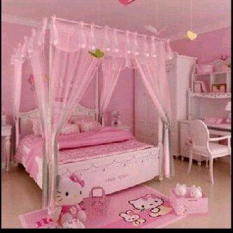 hello kitty. your next dream bedroom