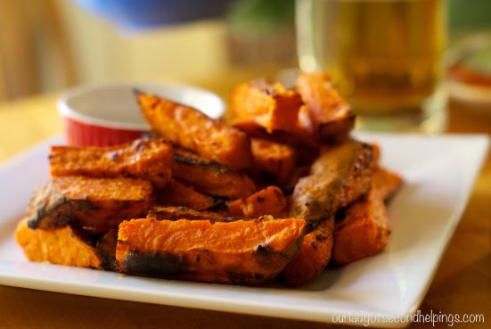 Oven Baked Sweet Potato Fries | Recipes | Pinterest