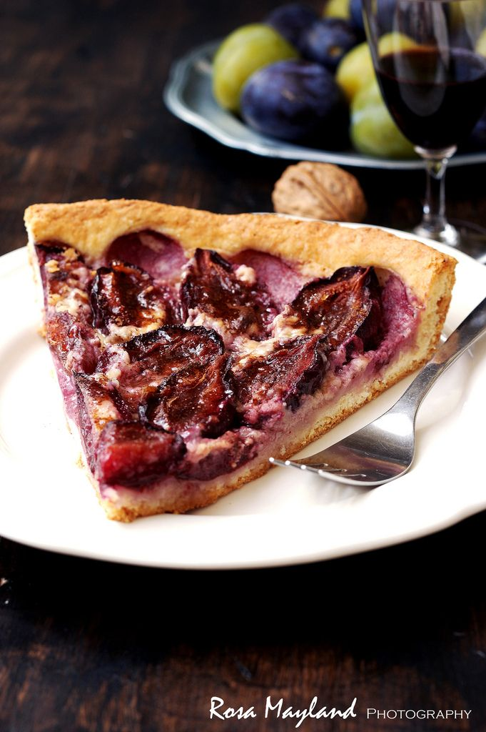 tart strawberry mascarpone tart plum tart with mascarpone cream plum ...