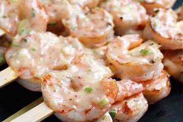 Bangin' Grilled Shrimp Skewers | Gluten Free Recipes (Delicious and H ...