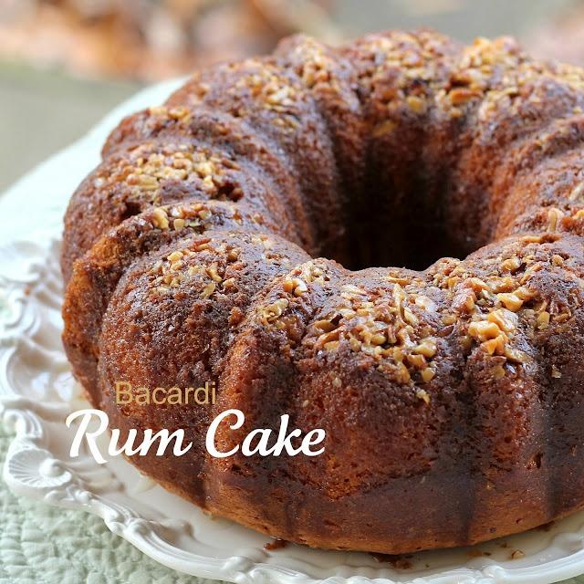 Bacardi Rum Cake   I am a foodie   Pinterest