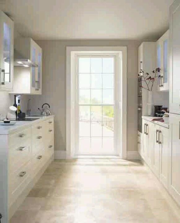 Light bright small kitchen  Kitchens  Pinterest