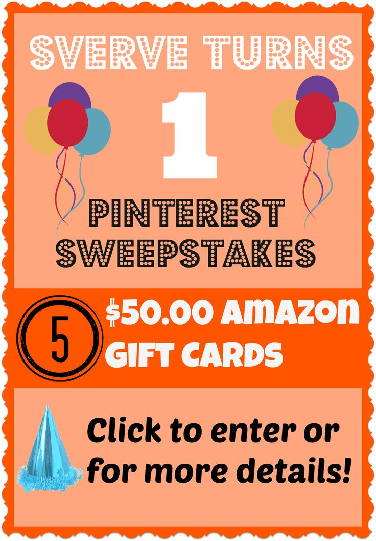 Super Easy to enter!!  Only a minute or two! #sverveturns1